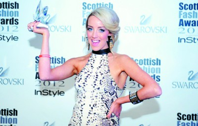 Award winning fashion designer Hayley Scanlan