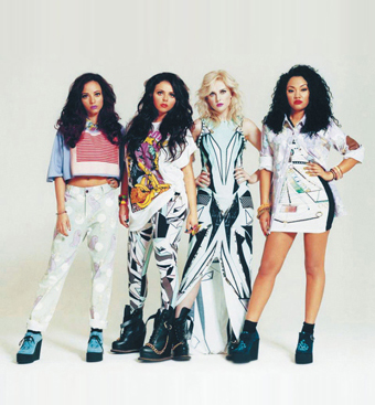Little Mix wearing Hayley Scanlan