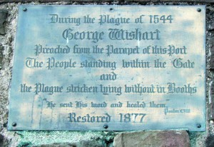 Wishart Arch Sign