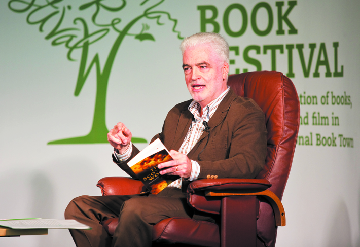 Billy Kay at a Book Reading