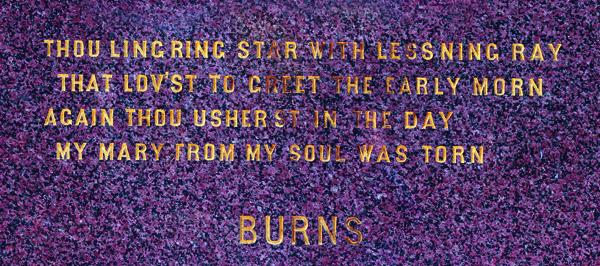 Burns Poem