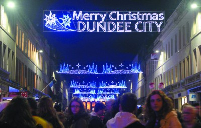 Dundee City Christmas Lights